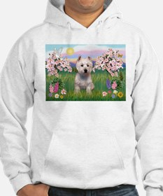 Blossoms & West Highland Hoodie