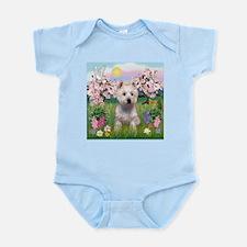 Blossoms & West Highland Infant Bodysuit