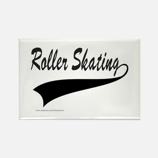 ROLLER SKATING Rectangle Magnet