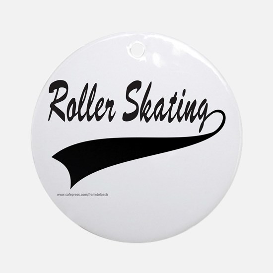 ROLLER SKATING Ornament (Round)