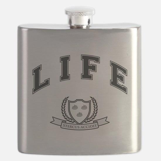 University Of Life - Shit Happens Flask