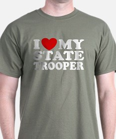 I Love My State Trooper T-Shirt