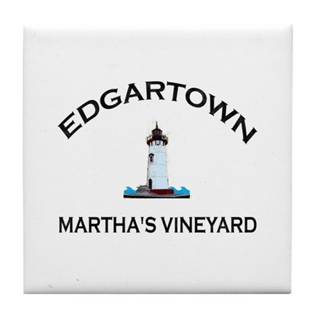 Edgartown Tile Coaster