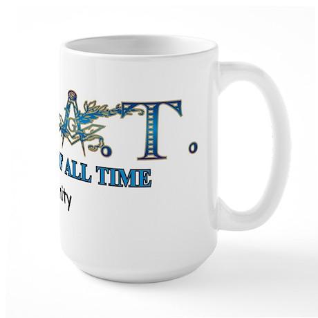 Greatest of all time Large Mug
