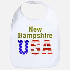New Hampshire USA Bib