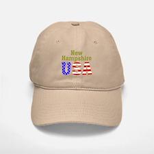 New Hampshire USA Baseball Baseball Cap