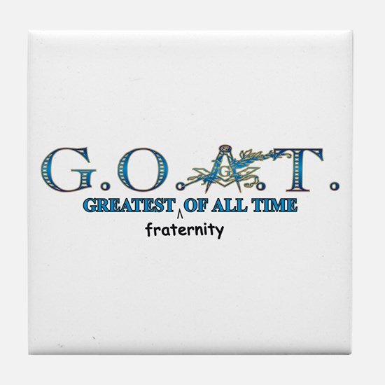 Greatest of all time Tile Coaster