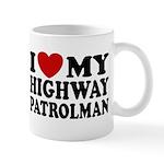I Love My Highway Patrolman Mug