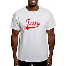 Vintage Jan (Red) T-Shirt