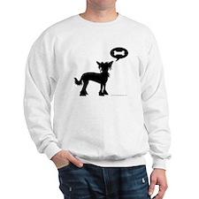 Chinese Crested Treat Sweatshirt