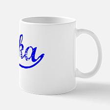 Vintage Chaska (Blue) Mug