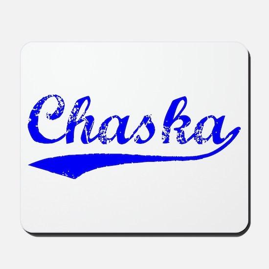 Vintage Chaska (Blue) Mousepad