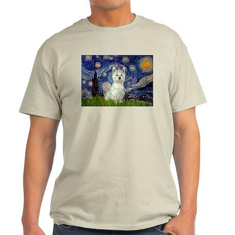 Starry Night & West Hightland Light T-Shirt