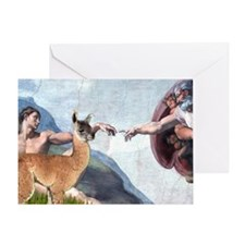 Creation of the Llama Greeting Card