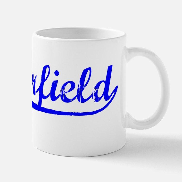 Vintage Chesterfield (Blue) Mug