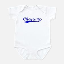 Vintage Cheyenne (Blue) Onesie