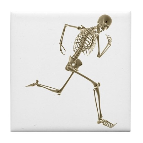 Skeleton Tile Coaster