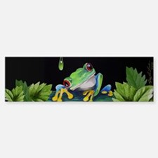 Tree Frog Bumper Bumper Bumper Sticker