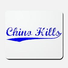 Vintage Chino Hills (Blue) Mousepad