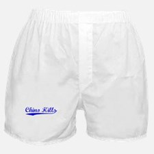Vintage Chino Hills (Blue) Boxer Shorts