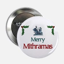 "Merry Mithramas - 2.25"" Button"