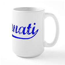 Vintage Cincinnati (Blue) Mug