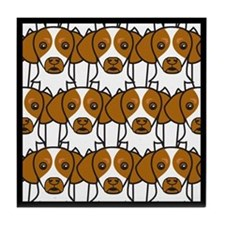 Brittany Spaniels Tile Coaster
