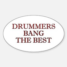 Drummers Oval Decal