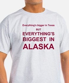 Everything's biggest in Alaska!