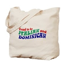 Dominican italian Tote Bag