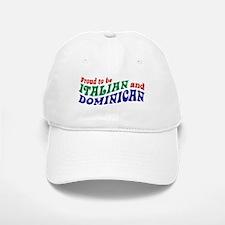 Dominican italian Baseball Baseball Cap