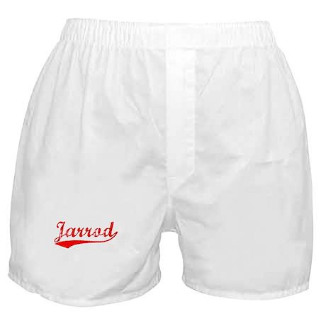 Vintage Jarrod (Red) Boxer Shorts