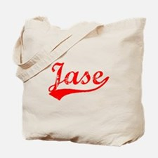 Vintage Jase (Red) Tote Bag