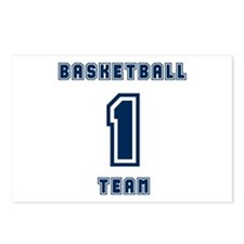 Basketball Team 1 Postcards (Package of 8)