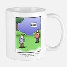 Cute Golf comic Mug