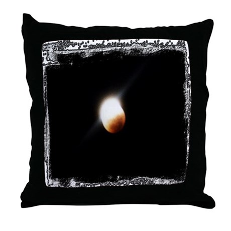 ...Lunar Eclipse... Throw Pillow