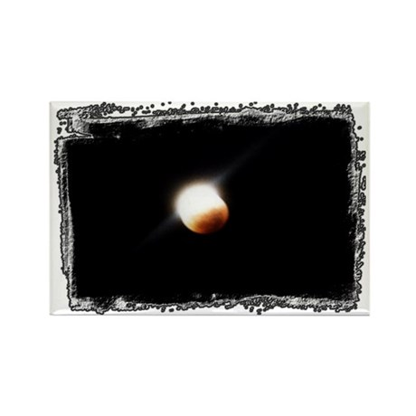 ...Lunar Eclipse... Rectangle Magnet