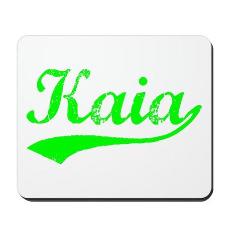 Vintage Kaia (Green) Mousepad