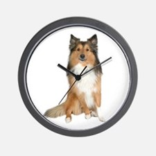 Collie Picture - Wall Clock