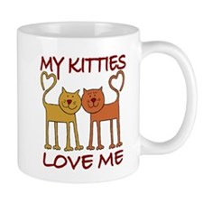 My Kitties Love Me Mug