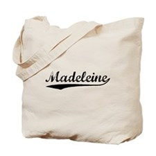 Vintage Madeleine (Black) Tote Bag