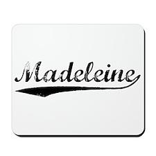 Vintage Madeleine (Black) Mousepad