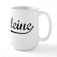 Vintage Madeleine (Black) Mug