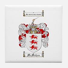 McMahon Family Crest Tile Coaster