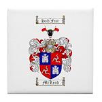 McLeod Family Crest Tile Coaster