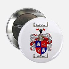 """McLeod Family Crest 2.25"""" Button (100 pack)"""