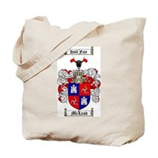 McLeod Family Crest Tote Bag