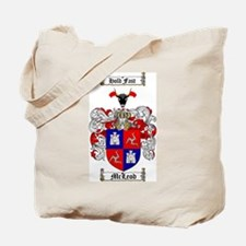 McLeod Family Crest Tote Bag
