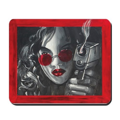 Smokin' Mousepad
