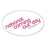 NCOD Ascent Oval Sticker (10 pk)